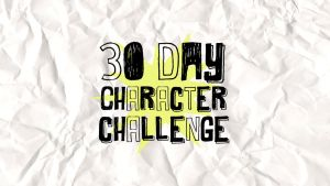 30 Day Character Challenge [June 2016] by Coloran