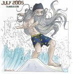 HP Art Calendar-July 2005 by The-Gwyllion
