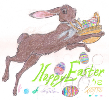 Easter Chocolate Bunny 18 by tabbytomkat