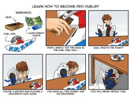 Learn how to become pro duelist by slifertheskydragon