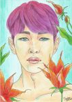 Onew SHINee Spring by Michael1525