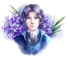 The Blue Hyacinth by PlatinaSi