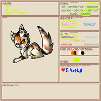 TWG Application - Tallflower by LordMuffinX3