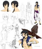 Persian guy design, Yazad (commision) by Precia-T