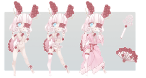 Revealed Aesthetic Adopt: Touch of Rose by kawaii-antagonist