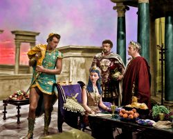 Caesar and Cleopatra Colorized by NorthOne