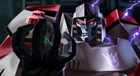 Transformers Animated - Megatron by Decepticoin