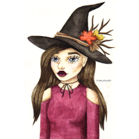 Autumn Witch by PrettyAlice95