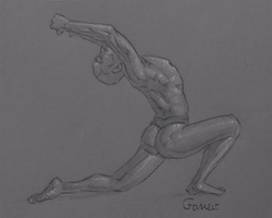 Figure Drawing #31 by AngelGanev