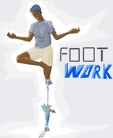 Footwork painting by CaptainInvincible