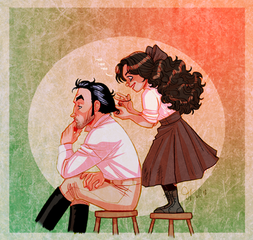 Father's Day: Trenton and Hester by Capella336