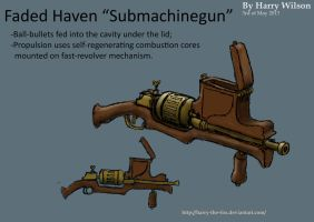 Faded Haven Submachinegun by Harry-the-Fox