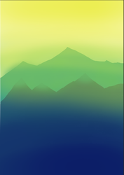 Esthetic Mountains by Askilone