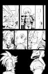 Prototype Page for: Renzo OC by JAG-Comics