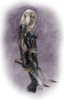 Dark Elf by MitchFoust