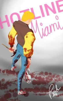 Hotline Miami by rublav