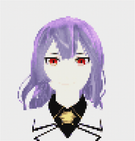Lacus Welt Cross stitch Version by Sephikuji