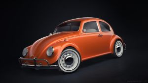 Classic VW Beetle by JambioO