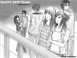 HAppy new year 2011 by wetochan