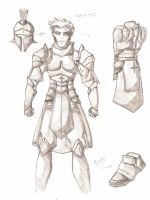 Runescape melee design by Tiberious125