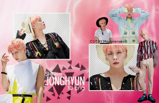 JONGHYUN (SHINee) PNG PACK BY Maxiprenses by Maxiprenses