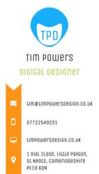 Business Card - TimPowersDesign by timmoproductions
