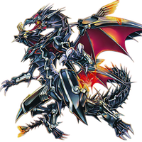 Red-Eyes Flare Metal Dragon png by Carlos123321