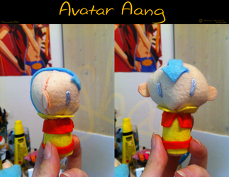 Avatar Aang Charm by Shaneroma