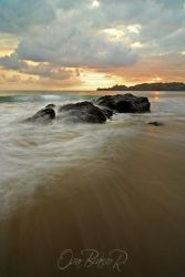 Sunset at Playa Carrillo by otas32