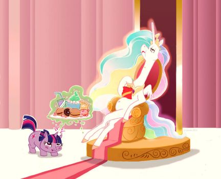 Treats for the princess by carmine-voleme