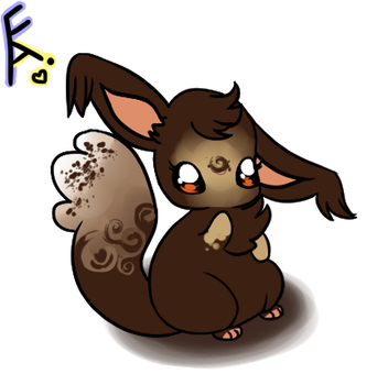Chocolate Rose- Oogie Adoptable by Fraught-Adopts