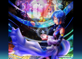 Kingdom Hearts Aqua by ArtistNtraininG