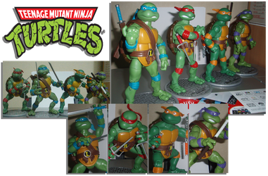 Playmate Classic 80's Teenage Mutant Ninja Turtles by Angelic-Zinle