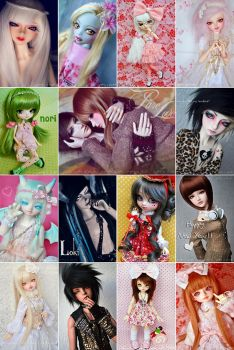 Michis Favourite Doll Pictures 2012 by prettyinplastic