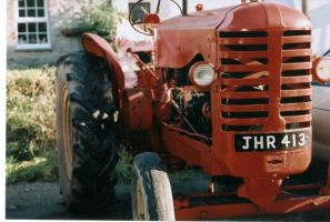 Red Tractor by sadisticwench