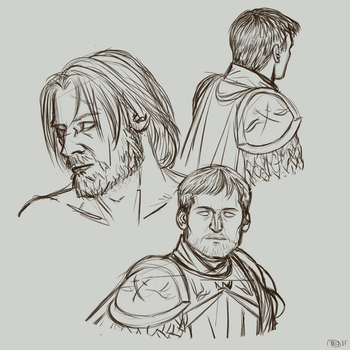 Jaime Sketches by teo4ever