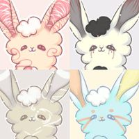 Squiggle Bunnies by VioletRaine