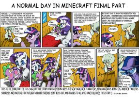 A normal day in minecraft Final part by CIRILIKO