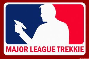 Major League Trekkie by Rabittooth