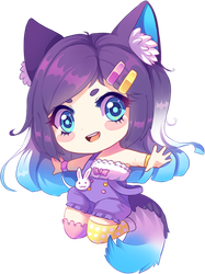 [GIFT] Chibi for Dindanda by Fivey