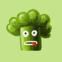 Funny broccoli by azzza
