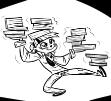 Twilight CAN Hold All These Books by Tess-27