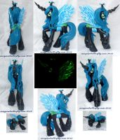 Queen Chrysalis Custom G4 My Little Pony Multiview by mayanbutterfly