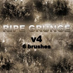 RIPE GRUNGE v4 - 6 brushes by RazorICE