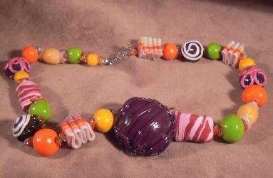 The Dieters Candy Necklace by mindsend