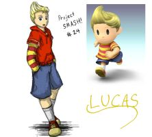 Project SMASH - Lucas by Krowjak