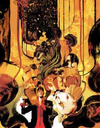 DYLAN DOG 374 Yellow Cover by GigiCave
