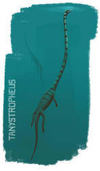 Tanystropheus by ChrisMasna