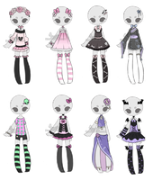 Outfit Adoptable Mix 3 [ CLOSED ] (0/8) by Hunibi