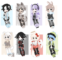 + Male adoptable mix [ CLOSED] (0/8)+ by Hunibi